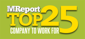 MReport Top 25 logo